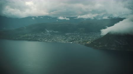 Norwegian west coast Town Volda