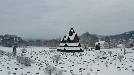 The Heddal Stave Church in Norway