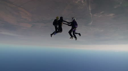sport estremi : Skydiving video. Filmati Stock