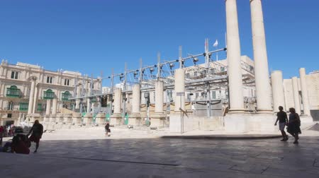 tiyatro : Valletta, Malta, Royal Opera House Site