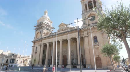 고대 : Valletta, Malta, St Johns Co-Cathedral facade