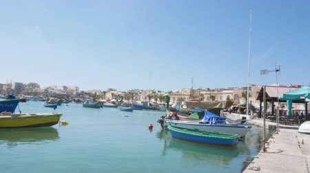 고대 : Vittoriosa, Malta, view of the Marina yach club