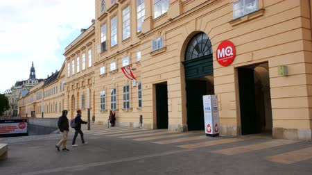 austríaco : Vienna, Austria, the main entrance of the MuseumsQuartier