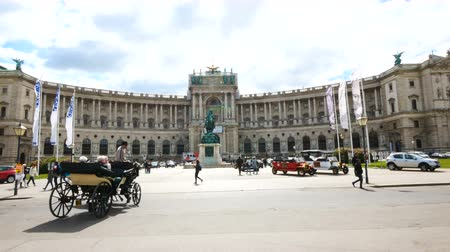 hofburg : Vienna, Austria, view of the Hofburg palace