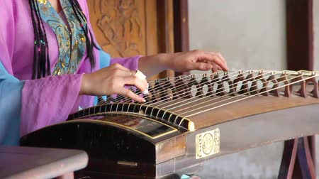 chinese culture : Guzheng, Chinese instrument