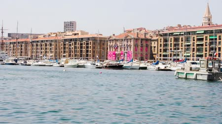 francja : Old port of Marseilles, Provence, France