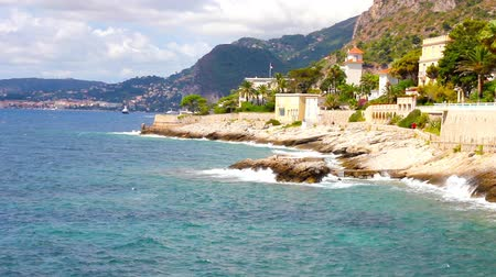 francja : Coast in Cap dAil, French Riviera, France