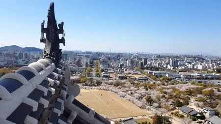 oryantal : View of Himeji castle from the top