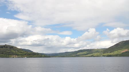highland : Loch Ness, the most famous lake in Scotland