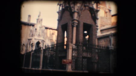 arche : Vintage 8mm. Original footage digitalized. Monument in Verona, Italy