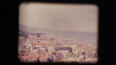 stare miasto : Vintage 8mm. View of San Remo, Italy, in the 70s
