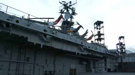 donanma : Aircraft carrier intrepid in New York City, now sea, air and space museum