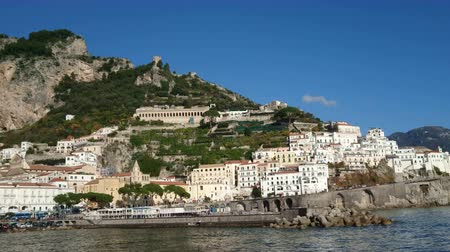 karakteristik : Amalfi, small characteristic village giving the name to the Amalfi coast, a stretch of coastline in Southern Italy