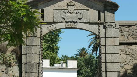 City Gate of the Historic Center (at the UNESCO World Heritage site) of Colonia del Sacramento, Uruguay.