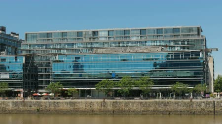 aires : New modern building in Puerto Madero neighborhood in Buenos Aires, Argentina.