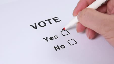 poll : Yes And No Checkbox Marking.