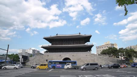 Dongdaemun Gate (Heunginjimun) of Seoul, South Korea