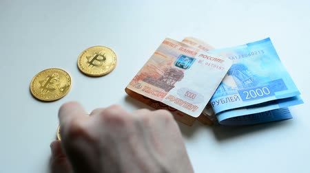 darknet : The choice between bitcoin and cash ruble
