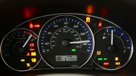tachometer : Dashboard in the car