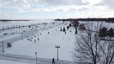 volga region : Main attractions of Yaroslavl, top view