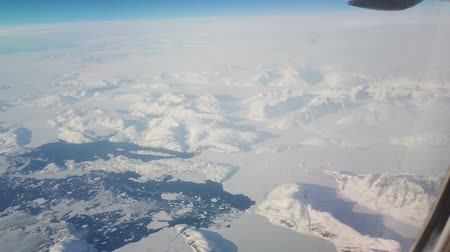 flap : View from intercontinental airplane porthole