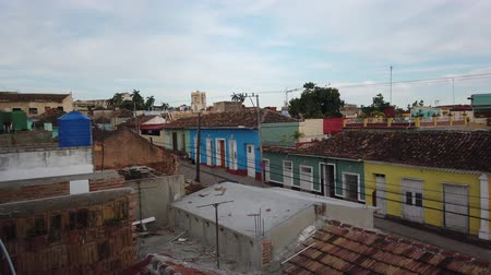 colonial : Red tiled roofs of Trinidad. Sancti Spiritus, Cuba