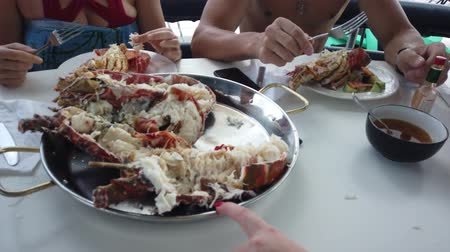 istiridye : Just cooked a fresh lobster. People eat lobster on the boat. Rocking the boat