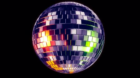 specchi : Disco Ball Filmati Stock