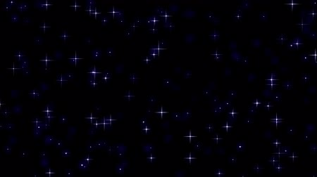 estrela : Twinkling stars - seamless loop animation