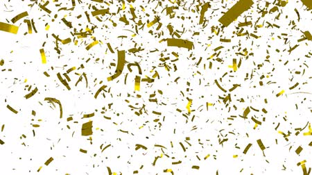 background gold : Gouden confetti