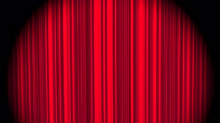 cerimônia : Red curtain, seamless loop animation Vídeos