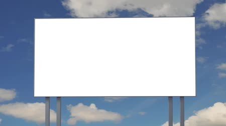üres : Billboard with empty screen