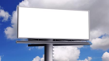 reklama : Billboard with empty screen