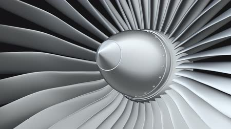 vidalar : Jet engine, turbine blades of airplane
