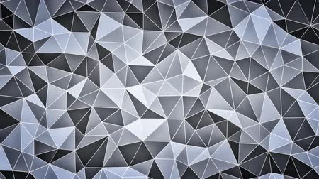 geometric : Abstract geometric faceted background animation