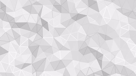 geométrico : Abstract geometric faceted background animation