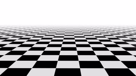 xadrez : Checkered motion background, seamless loop