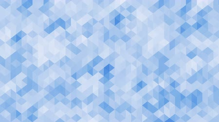geometric : Trendy pattern of geometric shapes animation