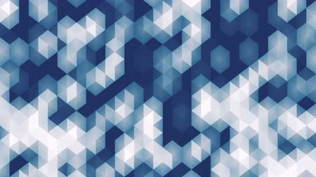 geométrico : Trendy pattern of geometric shapes animation