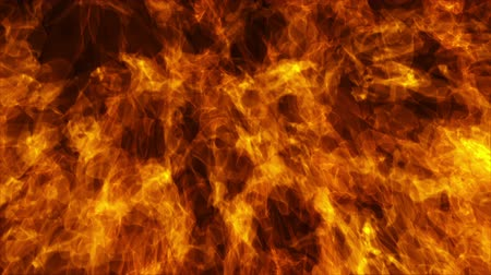 inflammable : Flames burning background