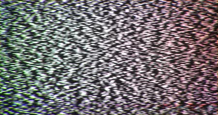 Broken reception tv interference noise static insert element.
