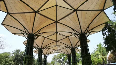 kumaş : fabric canvas tensile structure resemble tree
