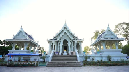 kaew : Krabi, Thailand : June 2016 - Krabi temple near night market, tourist destination