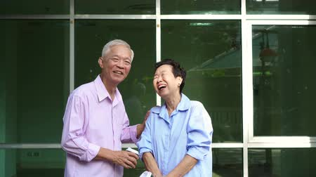собственность : Asian elderly couple looking for space rental to start SME business, active senior