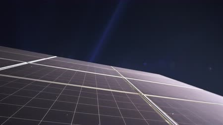 ökológiai : Solar Cells Pv Panels At Night Lack Of Power Storage Issue