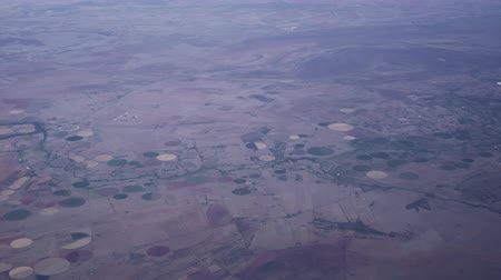 spil : Center Pivot Irrigation System From Top Aerial View