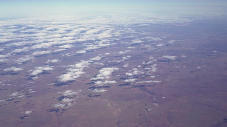 cape town : South Africa Landscape View Flight From Johannesburg To Cape Town Cloud Forms Stock Footage