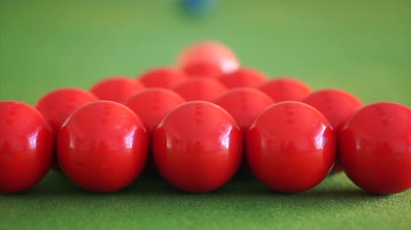 biljart : Snooker ballen abstract concept doel