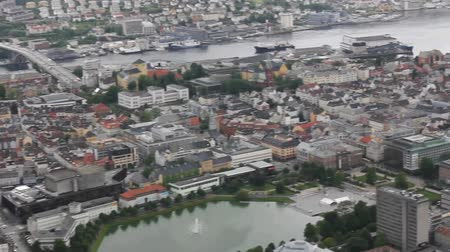 táj : Bergen - Panoramic view from the hill