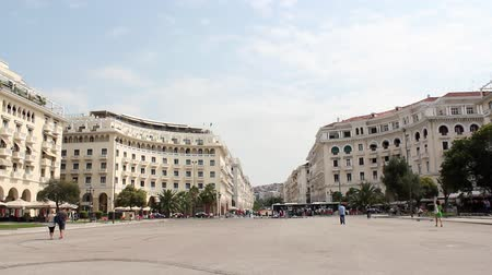 europeu : aristotelous square Thessaloniki Greece
